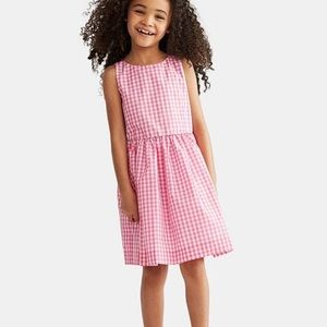 Polo Ralph Lauren Checkered Fit-and-Flare Dress